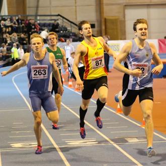 400 meter final tikll en bronsmedalj!