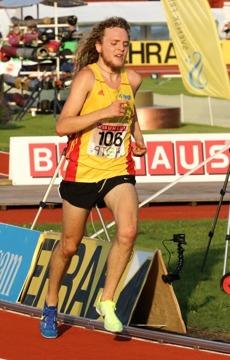 Hett 10000-meterslopp för John