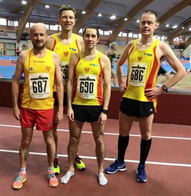 3000-gänget Christer, Tomas, Antonio och Ulf
