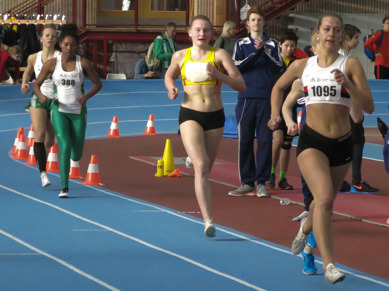 Hanna på väg mot SM-formen