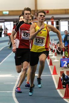 Ludvig Hillenfjärd 400 meter försök