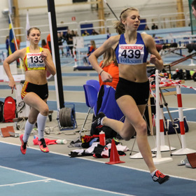Sara Hermansson 400 meter försök