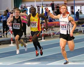 Amadou Sussoho 60 meter försök