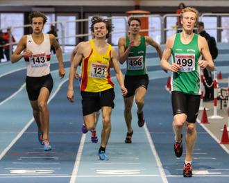Christopher Halldén 400 meter försök