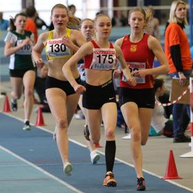 Hanna Bergström 1500 meter final