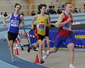 Jonathan Bergdahl 1500 meter final