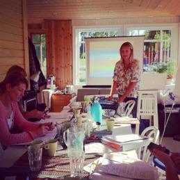 En dagkonferens på vår veranda