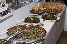 Catering tillagad i Y-allas kök. Foto: Urszula Striner.