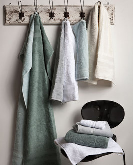Duschhandduk, handduk och gästhandduk: Fontana - Mille Notti / Foto & Styling: Mille Notti / Frotté