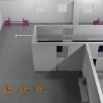 3D skiss-aktiveringsrum