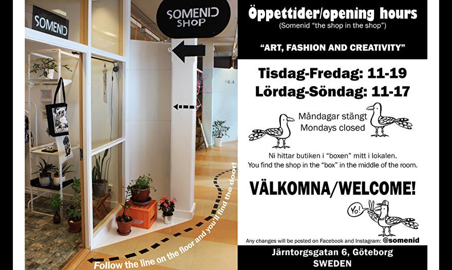 View from our shop at Järntorgsgatan in Gothenburg.