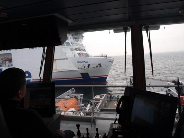 00-Fartyg under övning med Stena