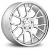 Vossen CV-2 - 10,5 x 20 ET42 - Matte Silver Machined / Stainless Lip