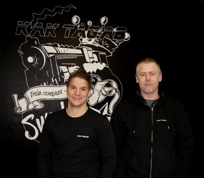 Daniel Eklund och Joakim Grantén