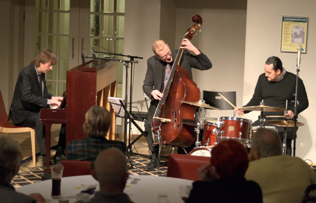 Jan Lundgren Trio Foto: Mats Blomberg