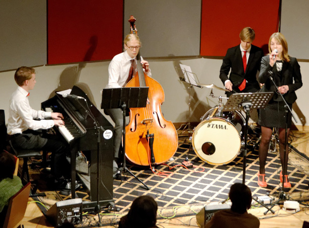 Martin Åklint Trio med Annie Ternström Foto: Mats Blomberg