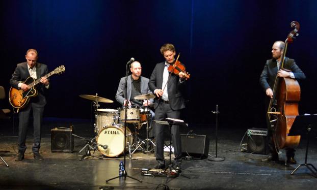 Mads Tolling Quartet Foto: Mats Blomberg