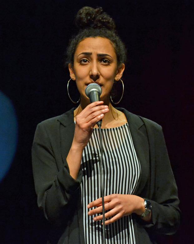 Sara Sissay Foto: Mats Blomberg
