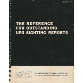 Olsen, Thomas M.: The reference for outstanding UFO sighting reports
