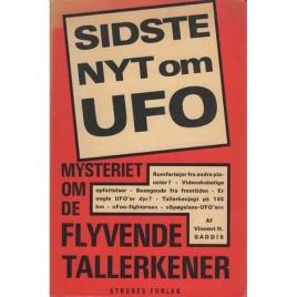 Gaddis, Vincent H.: Sidste nyt om UFO
