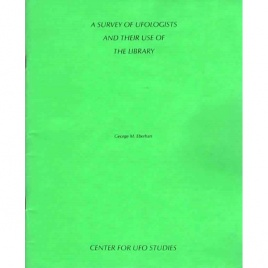 Eberhart, George M.: A survey of ufologists and their use of the library