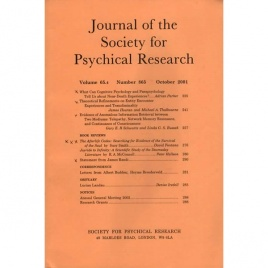 Journal of the Society for Psychical Research (2001-2004)