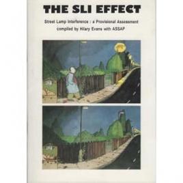 Evans, Hilary: The SLI effect. Street lamp interference