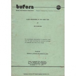 BUFORA: Bloecher, Ted: Close encounters of the third kind