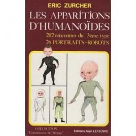 Zurcher, Eric: Les apparitions d'humanoides