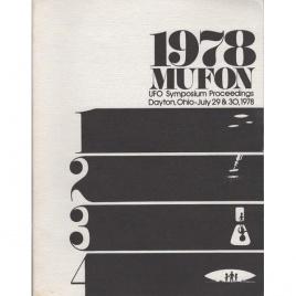 Mutual UFO Network (MUFON): 1978 UFO symposium proceedings