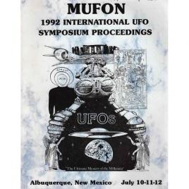 Mutual UFO Network (MUFON): 1992 international UFO symposium proceedings