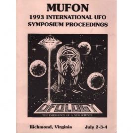 Mutual UFO Network (MUFON): 1993 international UFO symposium proceedings