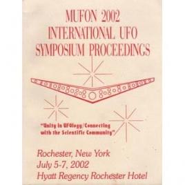 Mutual UFO Network (MUFON): 2002 international UFO symposium proceedings