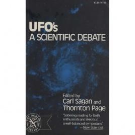 Sagan, Carl & Thornton Page (editors): UFO's - a scientific debate