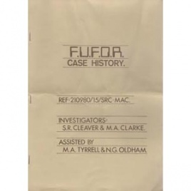 Cleaver, S.R. & Clarke, M.A.: FUFOR case history, Ref 210980/15/SRC-MAC (magazine format)