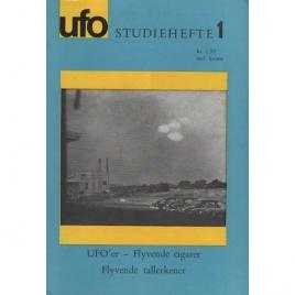 Pedersen, Leif E.: UFO studiehefte 1. UFO'er - flyvende cigarer - flyvende tallerkener