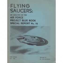 Davidson, Leon: Flying saucers: An analysis of the Air Force Project Blue Book Special Report No. 14. 3rd ed.