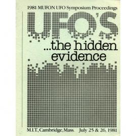 Mutual UFO Network (MUFON): 1981 international UFO symposium proceedings