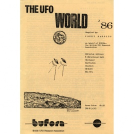 BUFORA: Randles, Jenny (compiled by): The UFO world ´86.