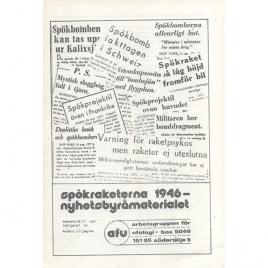 Liljegren, Anders (ed): Spökraketerna 1946 - nyhetsbyråmaterialet