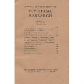 Journal of the Society for Psychical Research (1973)