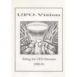 Möller Hansen, Kim (ed.): UFO-vision. Årbog for UFO-litteratur 1990-91