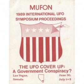 Mutual UFO Network (MUFON): 1989 international UFO symposium proceedings