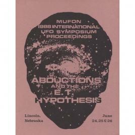 Mutual UFO Network (MUFON): 1988 international UFO symposium proceedings