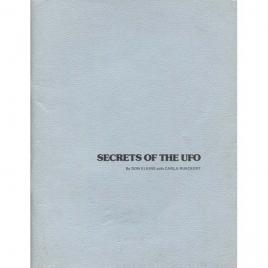 Elkins, Don with Carla Rueckert: Secrets of the UFO