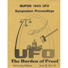 Mutual UFO Network (MUFON): 1985 UFO symposium proceedings