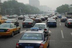 Sexfilig trafik i Beijing