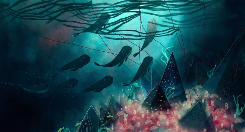 Ur filmen Song of the sea