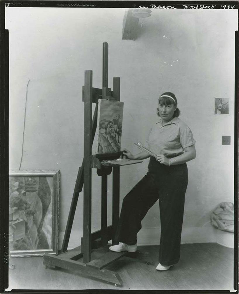 Nan Mason Amerikansk konstnär 1896-1982