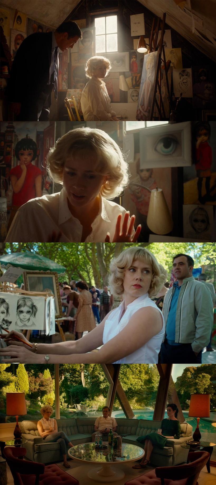 Scener ur filmen Big Eyes